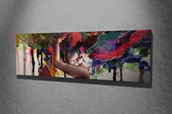 Tablou decorativ Majestic, 257MJS1443, canvas 100 procente, 30 x 80 cm imagine