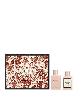 Set cadou Gucci Bloom (Apa de parfum 50 ml + Lotiune de corp 100 ml), pentru femei imagine produs