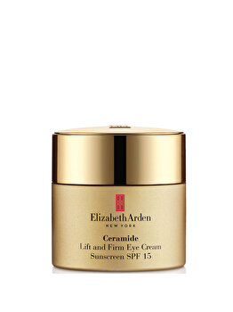 Crema cu ceramide pentru ochi Elizabeth Arden Lift and Firm SPF 15, 15 ml imagine produs
