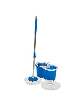 Set curatenie Vanora Super Easy Clean, VN-GRH-LV-04, mop rotativ 360, Albastru imagine