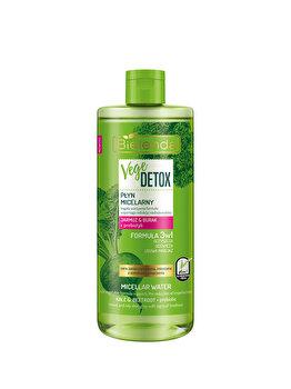Apa micelara de fata normalizanta pentru piele mixta cu Sfecla si Nap + prebiotic Vege Detox, 500 ml imagine produs