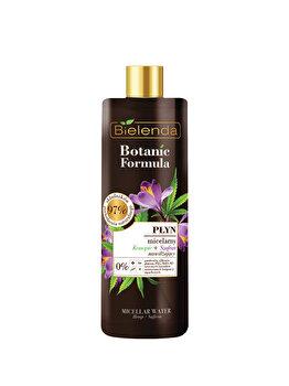 Lichid micelar fata cu Ulei de canepa + sofran Botanic Formula, 500 ml imagine produs