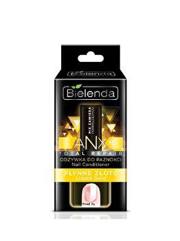 ANX Total Balsam reparator de unghii liquid gold ANX Total, 11 ml