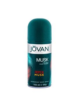 Deospray Jovan Tropical Musk, 150 ml, pentru barbati imagine produs