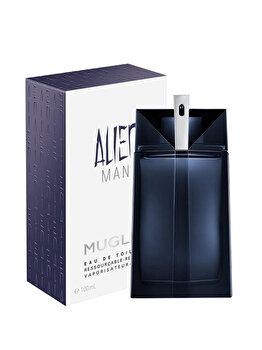 Apa de toaleta Thierry Mugler Alien Man reincarcabil, 100 ml, pentru barbati poza