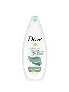Gel de dus Dove Green Clay, 500 ml poza