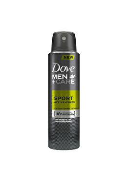 Antiperspirant Spray Dove Men+Care Sport Active+Fresh, 150ml imagine produs