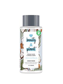 Balsam pentru volum Love Beauty and Planet Volume & Bounty Coconut Water & Mimosa Flower, 400 ml poza