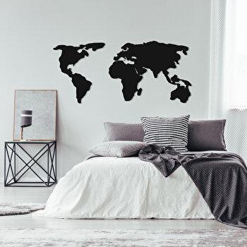 Decoratiune pentru perete, Ocean, metal 100 procente, 121 x 56 cm, 874OCN1015, Negru