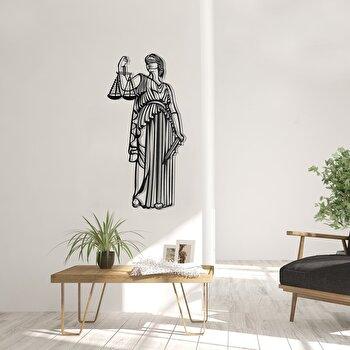 Decoratiune pentru perete, Pirudem, metal 100 procente, 35 x 70 cm, 826PIR2079, Negru
