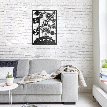 Decoratiune pentru perete, Pirudem, metal 100 procente, 50 x 70 cm, 826PIR2073, Negru