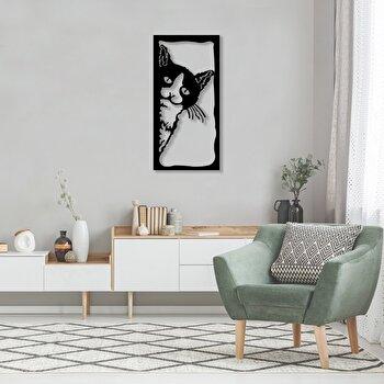 Decoratiune pentru perete, Pirudem, metal 100 procente, 35 x 70 cm, 826PIR2067, Negru elefant