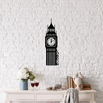 Decoratiune pentru perete, Ocean, metal 100 procente, 18 x 69 cm, 874OCN1023, Negru imagine