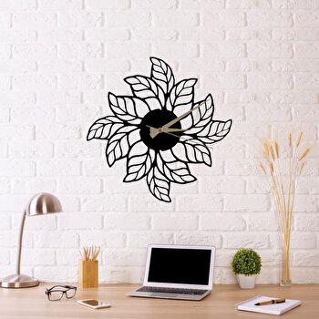 Ceas decorativ pentru perete, Ocean, metal 100 procente, 48 x 48 cm, 874OCN2010, Negru
