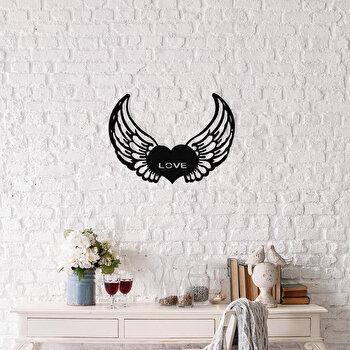 Decoratiune pentru perete, Ocean, metal 100 procente, 48 x 38 cm, 874OCN1002, Negru elefant