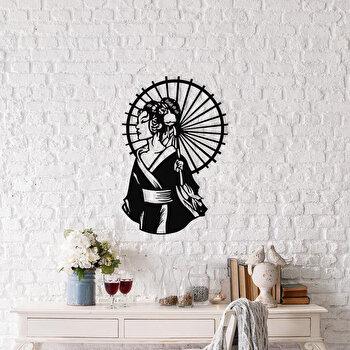 Decoratiune pentru perete, Ocean, metal 100 procente, 35 x 52 cm, 874OCN1032, Negru
