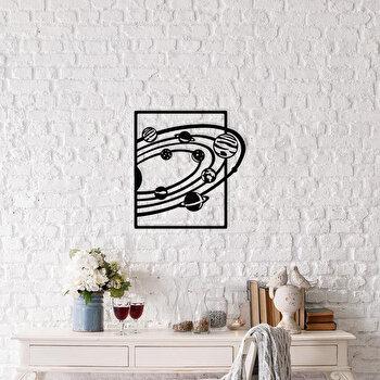Decoratiune pentru perete, Ocean, metal 100 procente, 47 x 50 cm, 874OCN1033, Negru imagine