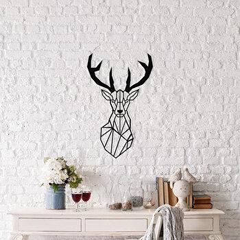 Decoratiune pentru perete, Ocean, metal 100 procente, 37 x 59 cm, 874OCN1039, Negru