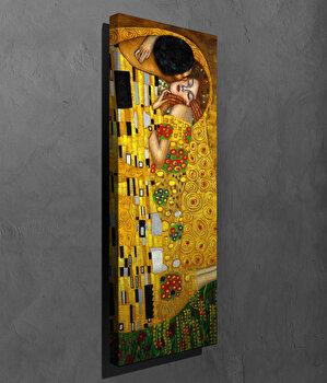 Tablou decorativ, Vega, Canvas 100 procente, lemn 100 procente, 30 x 80 cm, 265VGA1110, Multicolor