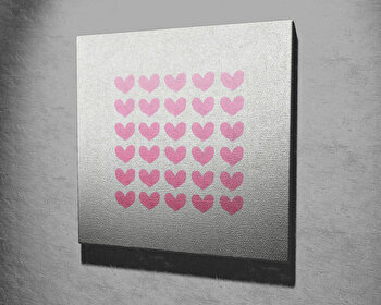 Tablou decorativ, Vega, Canvas 100 procente, lemn 100 procente, 45 x 45 cm, 265VGA1066, Multicolor