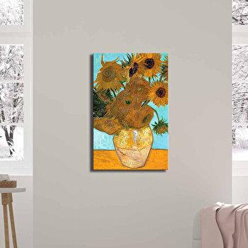 Tablou decorativ, Canvart, Canvas, 45 x 70 cm, lemn 100 procente, 249CVT1380, Multicolor