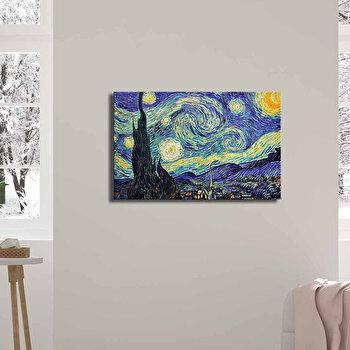 Tablou decorativ, Canvart, Canvas, 45 x 70 cm, lemn 100 procente, 249CVT1390, Multicolor