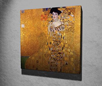Tablou decorativ, Vega, Canvas 100 procente, lemn 100 procente, 45 x 45 cm, 265VGA1205, Multicolor elefant