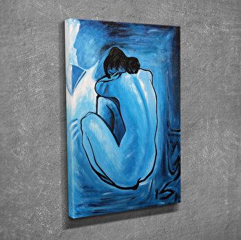 Tablou decorativ, Vega, Canvas 100 procente, lemn 100 procente, 30 x 40 cm, 265VGA1008, Multicolor