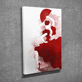 Tablou decorativ, Vega, Canvas 100 procente, lemn 100 procente, 30 x 40 cm, 265VGA1020, Multicolor