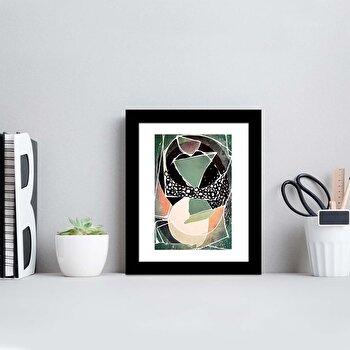 Tablou decorativ, Alpyros, MDF 100 procente, PVC100 procente, 23 x 28 cm, 841APY1105, Multicolor
