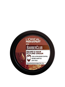 Crema de stilizare LOreal Men Expert Barber Club, 75 ml
