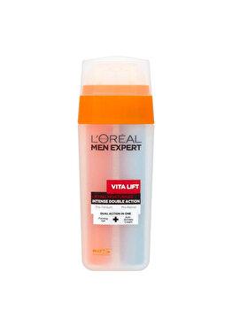 Crema hidratanta pentru ten LOreal Men Expert Vitalift Double Pump, 30 ml