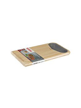 Tocator Tefal 41 x 24 cm, lemn, K2215514, Maro