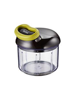 Mini tocator manual Tefal 900 ml inox plastic K1320404 Verde