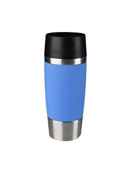 Termos calatorie Tefal, inox, 0.36 L, K3086114, Albastru