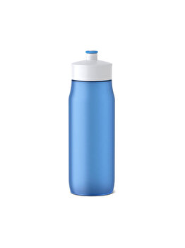 Recipient apa pentru copii Tefal Squeeze, 0.6 L, inox, K3200312, Albastru imagine