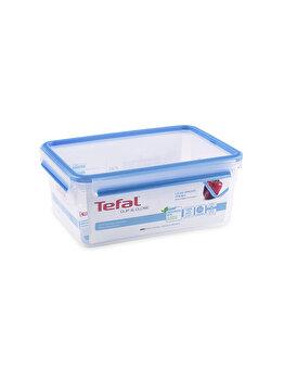 Caserola TEFAL Clip&Close, 3.7 L, plastic, K3022012, Albastru