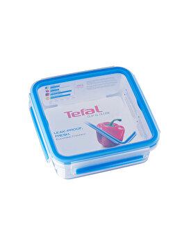 Caserola TEFAL Clip&Close, 0.85 L, plastic, K3022112, Albastru