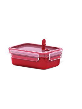 Caserola TEFAL Clip Micro, 0.55 L, plastic, rosu, K3102012, Rosu