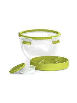Caserola TEFAL Clip Micro, 1 L, plastic, K3100112, Verde