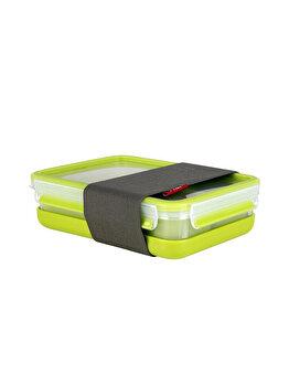 Caserola TEFAL Clip&Go, 1.2 L, plastic, K3100212, Verde
