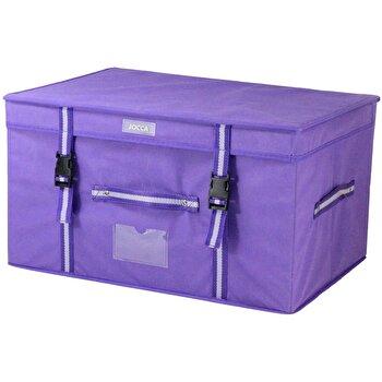 Cutie pentru depozitare Jocca Purple, cu capac, Mov imagine