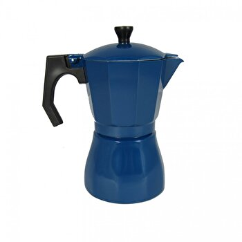 Cafetiera Jocca, Italian Navi Blue, 385 ml, 6 cesti, Albastru imagine