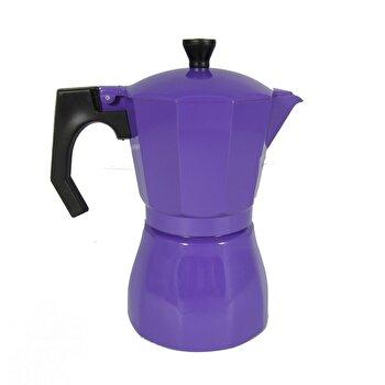 Cafetiera Jocca, Italian Navi Blue, 385 ml, 6 cesti, Mov