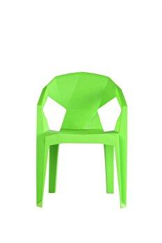 Scaun Heinner, plastic, modern, HR-CHRPL-GRN, Verde