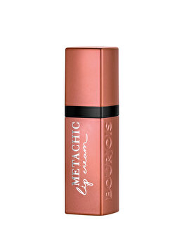 Ruj de buze Metachic Lip Cream, 01 Peachy Gold Nude, 6.5 ml imagine produs