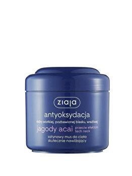Spuma satin de corp eficienta pentru hidratarea pielii delicate, sensibile, 200ml poza