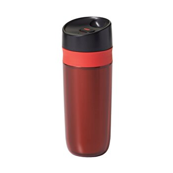 Cana de calatorie OXO, 445 ml, plastic, 11148400, Rosu imagine