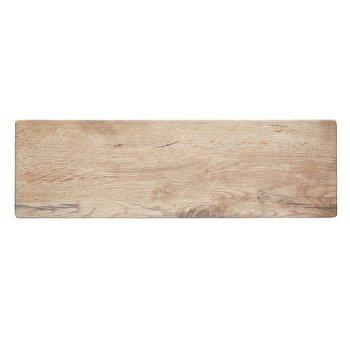 Platou pentru servire Kitchen Craft, melamina, 53 x 16 cm, KCSMPLATWD53, Crem
