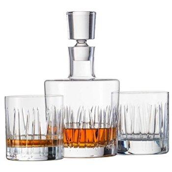 Set decantor si pahare whisky Schott Zwiesel, cristal, 120145, Transparent
